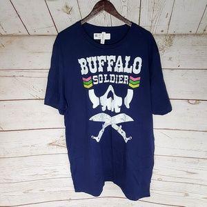 Other - Buffalo Soldier Rastafarian T Shirt 3X